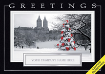 Central Park Joy Holiday Cards